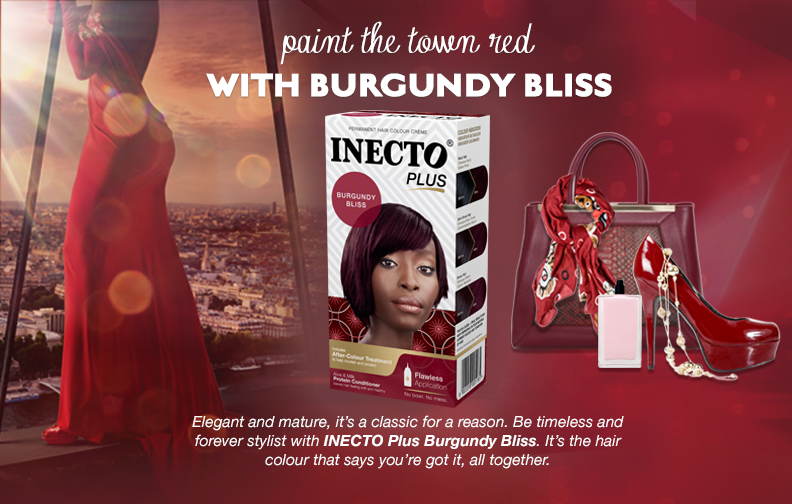 Burgundy Bliss Inecto Plus