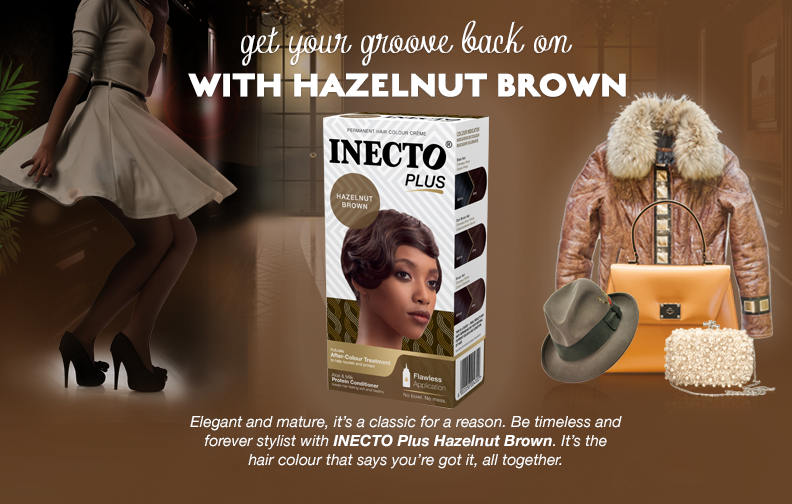 Hazelnut hair colour