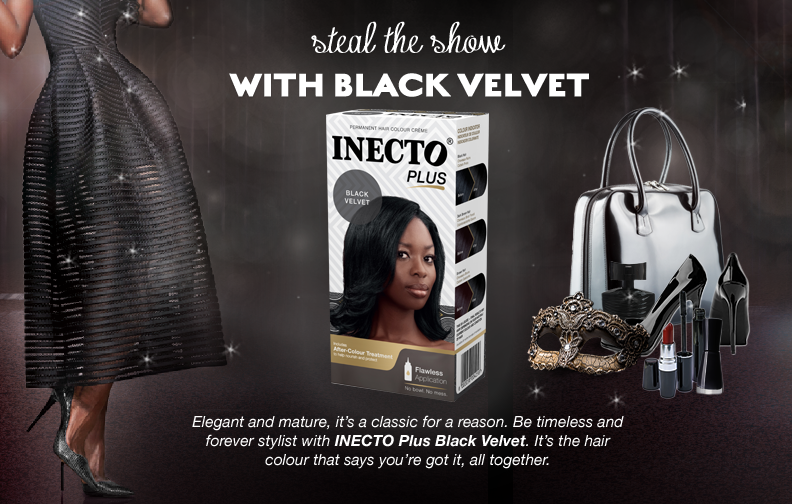 Inecto Black Velvet Hair Colour