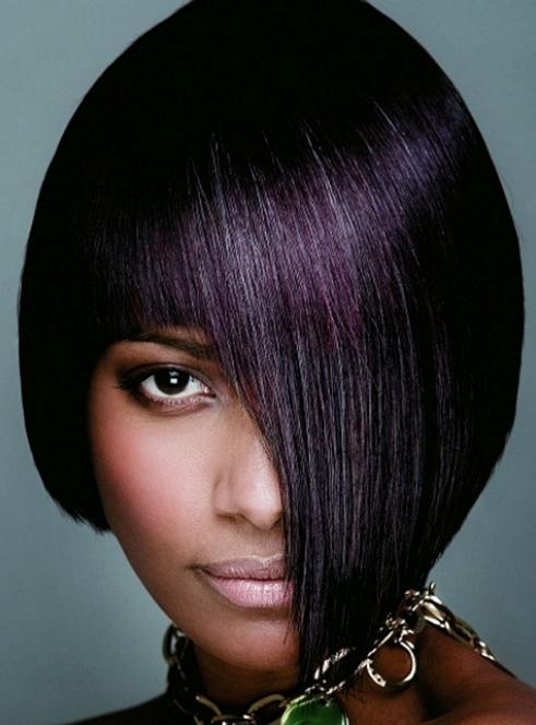 5 Ways to rock Plum hair colour