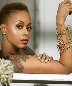 Chrisette Michelle Dash of Colour
