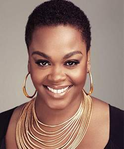Jill Scott Gold Accessories