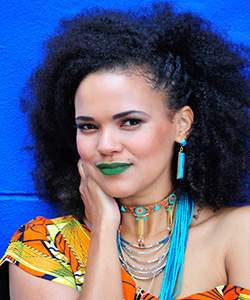 Phumeza Mdabe glamour hair