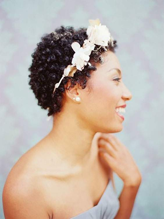 Inecto wedding hair Afro Curls