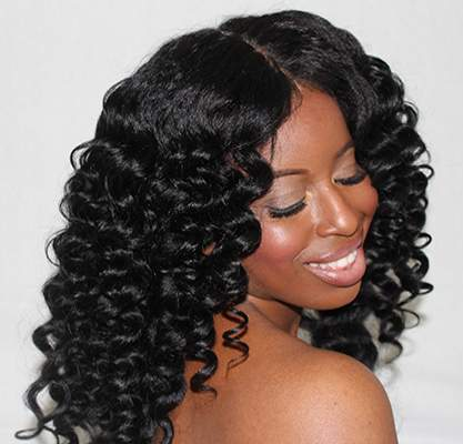 Bouncy tight curls with Inecto