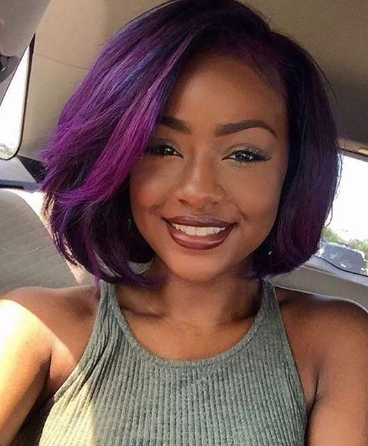 Colour relaxed hair with Inecto safely
