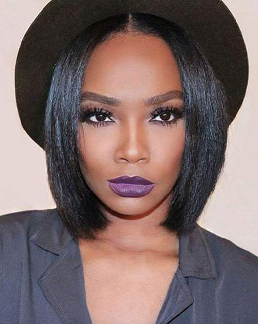 Best colour for relaxed hair with Inecto