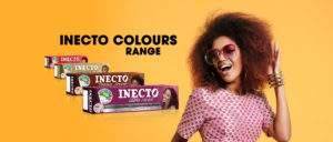 INECTO colour plus range product boxes