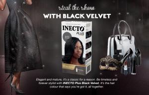 Inecto Black Velvet Hair Colour