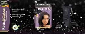 inecto black leather hair dye