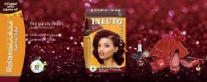Inecto rasberry hair dye