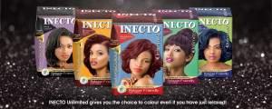 Inecto hair colour