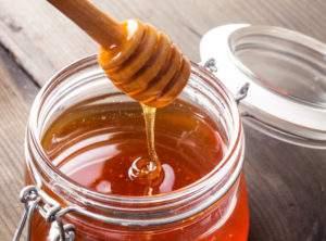 honey in a jug