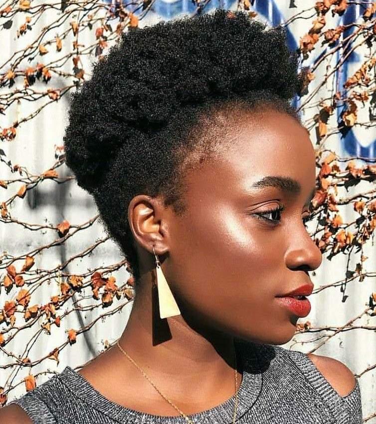 black velvet hair on a stylish black women