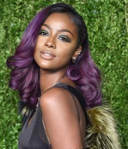Purple hair with Inecto hair