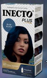Inecto Plus Blue Black hair colour